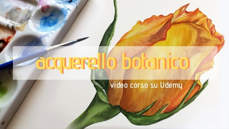 acquerello botanico