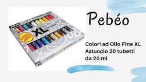 pebeo, colori ad olio